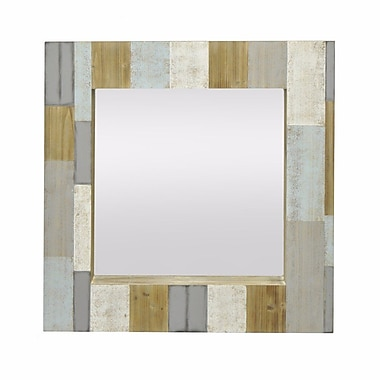 Red Barrel Studio Taylorville Modern Wood Accent Mirror