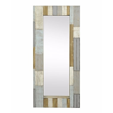Red Barrel Studio Thawville Contemporary Wood Accent Mirror