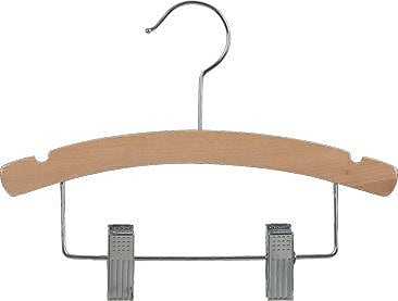 Rebrilliant Wooden Kids Combo Hanger w/ Adjustable