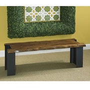 Union Rustic Clymer Wood Entryway Bench