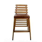 Union Rustic Faust 30'' Bar Stool; Brown