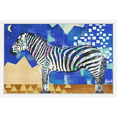 East Urban Home 'Stars and Stripes' Framed Graphic Art Print; 20'' H x 30'' W