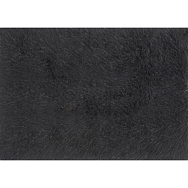 Varick Gallery Parham Charcoal/Gray Area Rug ; 3' x 5'