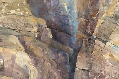 East Urban Home 'Canyon II' Painting Print on Wrapped Canvas; 26'' H x 40'' W x 1.5'' D