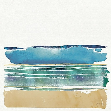 East Urban Home 'By the Sea III' Graphic Art on Wrapped Canvas; 26'' H x 26'' W x 0.75'' D