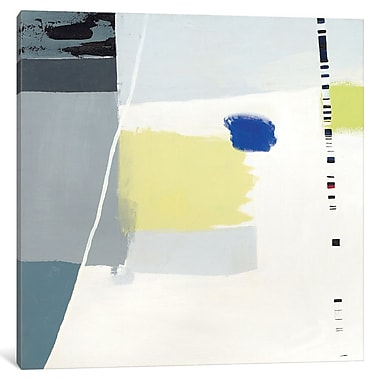 East Urban Home 'Highway 80' Painting Print on Wrapped Canvas; 12'' H x 12'' W x 0.75'' D