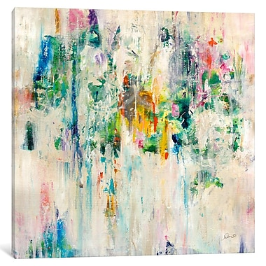 East Urban Home 'Splash' Painting Print on Wrapped Canvas; 18'' H x 18'' W x 1.5'' D