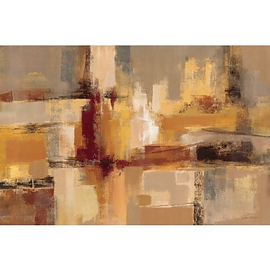 East Urban Home 'Sandcastles' Painting Print on Wrapped Canvas; 12'' H x 18'' W x 0.75'' D