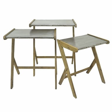 Williston Forge Kay Wood 3 Piece Nesting Tables