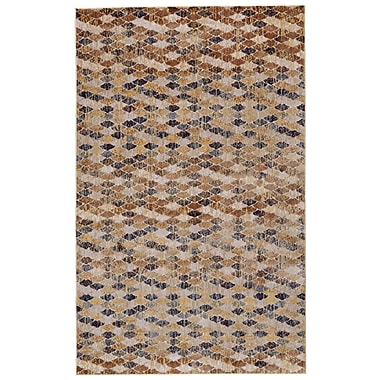 Bloomsbury Market Rogers Castle/Taupe Area Rug; 10' X 13'2''