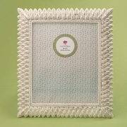 Bay Isle Home Sneads Brushed Leaf Picture Frame; 8'' x 10''