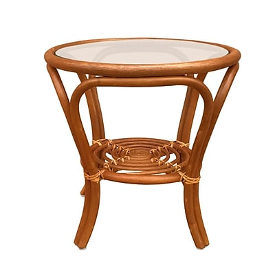 Bay Isle Home Bonifay Coffee Table; Light Brown