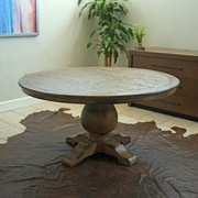 Darby Home Co Constancia Round Dining Table; 30'' H x 48'' W x 54'' L