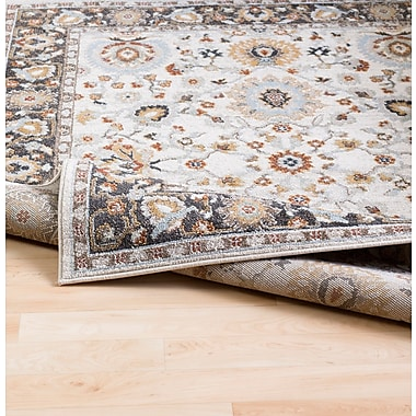 Charlton Home Lenora Pale Blue Indoor/Outdoor Area Rug; 6'7'' x 9'6''