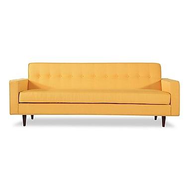 Corrigan Studio Mickey Mid Century Modern Sofa; Saffron