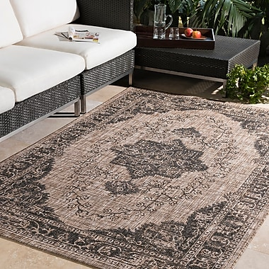 Bungalow Rose Fonwhary Camel Area Rug; 2' x 3'