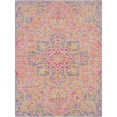 Bungalow Rose Lyngby-Taarb k Lilac Area Rug; 9'3'' x 13'