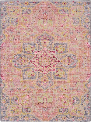 Bungalow Rose Lyngby-Taarb k Lilac Area Rug; 7'10'' x 10'3''