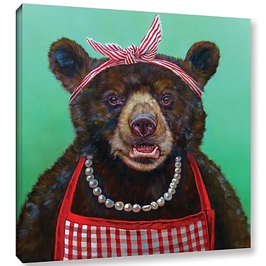 Harriet Bee 'Mama Bear' Graphic Art Print on Wrapped Canvas; 10'' H x 10'' W x 2'' D