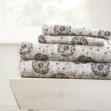 Ebern Designs Edinburgh Premium Ultra Soft Make a Wish Pattern Sheet Set; Twin