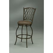 Fleur De Lis Living Bushnell Swivel Bar Stool; 26''