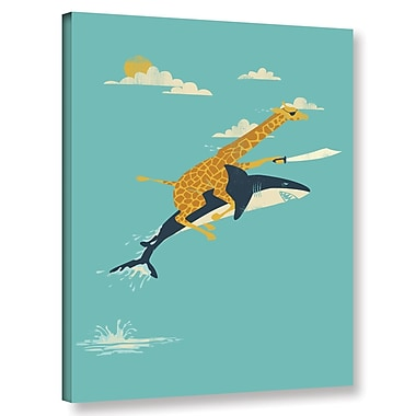 Harriet Bee 'Onward' Graphic Art Print on Wrapped Canvas; 32'' H x 24'' W x 2'' D