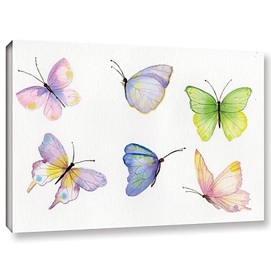 Harriet Bee 'Floral Delight Element IV' Print on Canvas; 24'' H x 36'' W x 2'' D
