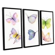 Harriet Bee 'Floral Delight Element IV' Framed Print Multi-Piece Image on Canvas