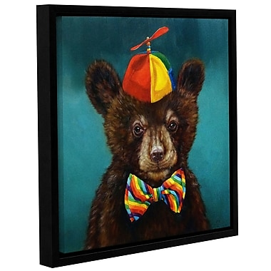 Harriet Bee 'Baby Bear' Framed Graphic Art Print on Canvas; 18'' H x 24'' W x 2'' D