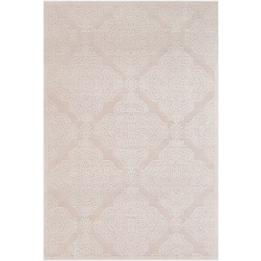 Ophelia & Co. Geir Cream Area Rug; 2' x 3'