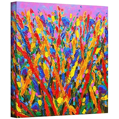 Latitude Run 'Growing Wild' Painting Print on Wrapped Canvas; 24'' H x 24'' W