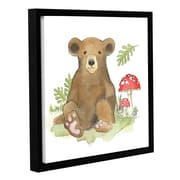 Harriet Bee 'Baby Woodland II' Framed Painting Print; 24'' H x 24'' W x 2'' D