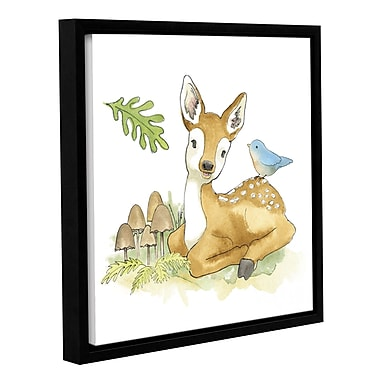 Harriet Bee 'Baby Woodland III' Framed Painting Print; 24'' H x 24'' W x 2'' D