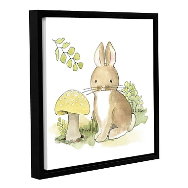 Harriet Bee 'Baby Woodland IV' Framed Painting Print; 14'' H x 14'' W x 2'' D