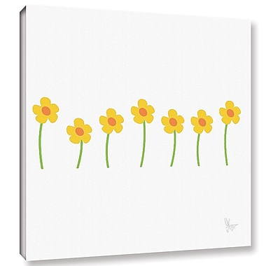 Harriet Bee 'Gorse Flowers' Graphic Art on Wrapped Canvas; 24'' H x 24'' W x 2'' D
