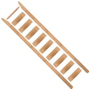 Quiet Glide 102'' Wood Rolling Ladder; Red Oak