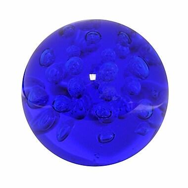 Orren Ellis Calamus Bubble Glass Orb; 7'' H x 7'' W x 7'' D