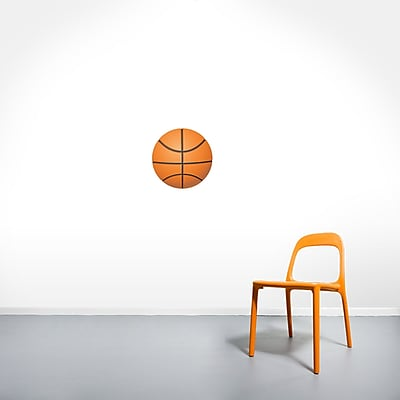 East Urban Home Modern Basketball Wall Decal; 12'' H X 12'' W