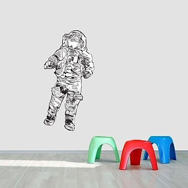 SweetumsWallDecals Printed Astronaut Wall Decal; 48'' H x 24'' W