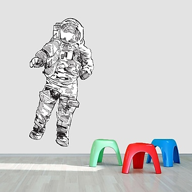 SweetumsWallDecals Printed Astronaut Wall Decal; 60'' H x 30'' W