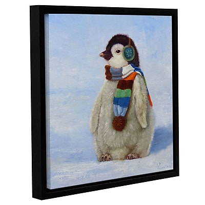 Zoomie Kids '3D Below' Framed Painting Print on Canvas; 10'' H x 10'' W x 2'' D
