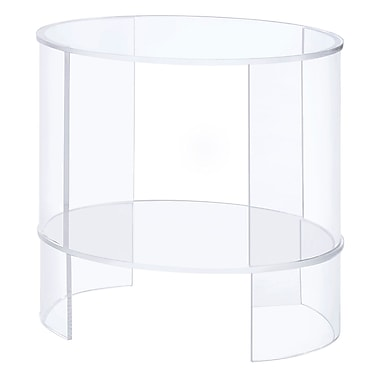 Symple Stuff Oval End Table