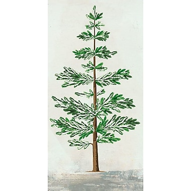 Union Rustic 'Forest Pine Skinny' Acrylic Painting Print on Wrapped Canvas