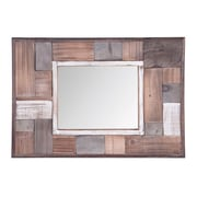 Union Rustic Juana Wooden Wall Accent Mirror