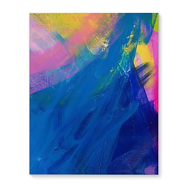 Varick Gallery 'Those Monday Blues' Vertical Graphic Art Print on Canvas