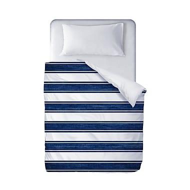 Longshore Tides Melton Stripe Duvet Cover; Queen
