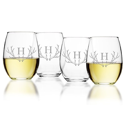Union Rustic Maximo 15 Oz. Stemless Wine Glass (Set of 4); O