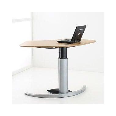 Latitude Run Minh Corner Standing Desk; Silver