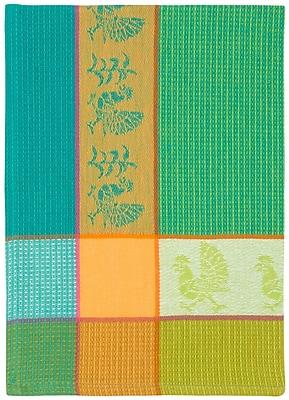 August Grove Poulet Fou 100pct Hand Woven Cotton Blue Dishcloth (Set of 6)