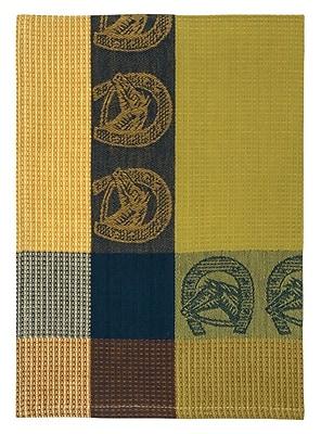 Loon Peak Patterned Horseshoe 100pct Cotton Dishcloth (Set of 6)